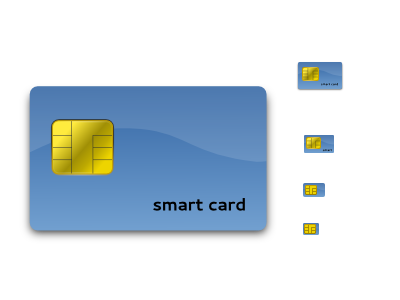 Smart card icons